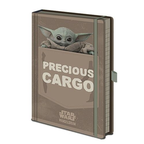 Star Wars The Mandalorian Precious Cargo A5 Notebook Note Pad